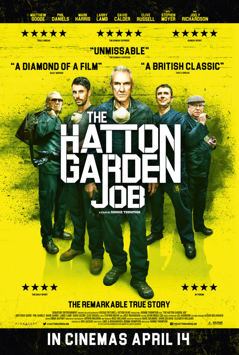 The Hatton Garden Job Releases April 14th 2017